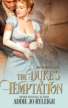 The Duke's Temptation Cover